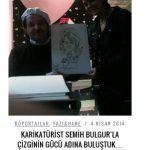 Karikatürist Semih Bulgur
