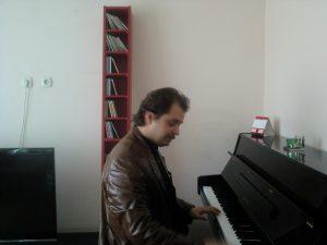 Playin piano