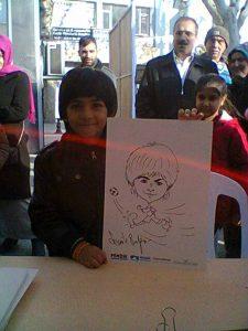 Portrait childCartoon Events