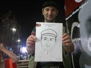 Portrait Cartoon Events