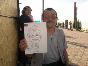 Portrait Cartoon Events