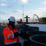 samsun port inspection