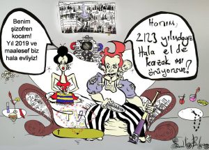 Geleck karikatür
